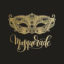 Gold-Mask-with-Masquerade
